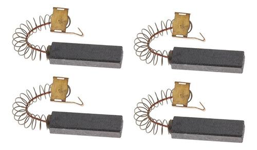 4 Piezas Motores Repuesto Cepillos Carbón Secador Pelo