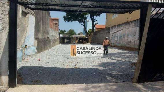 Terreno Para Alugar, 500 M² Próx. À Rua Name E Rua Jarauára-te0462 - Te0462