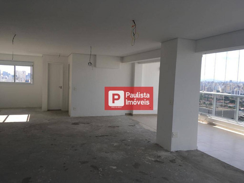 Cobertura Com 2 Dormitórios À Venda, 140 M²  - Campo Belo - São Paulo/sp - Co0756