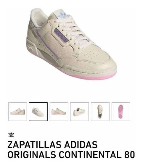 Zapatillas Continental adidas Mujer Talle 38 !