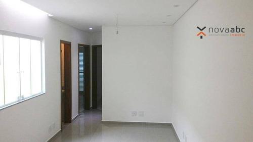 Imagem 1 de 10 de Apartamento À Venda, 50 M² Por R$ 265.000,00 - Parque Novo Oratório - Santo André/sp - Ap0563