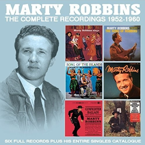 Marty Robbins The Cmplt. Recordings 1952 Cd Us Imp