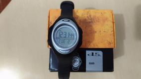 Oakley D5 D3 Relógio Digital Unissex Autêntico Black Silver