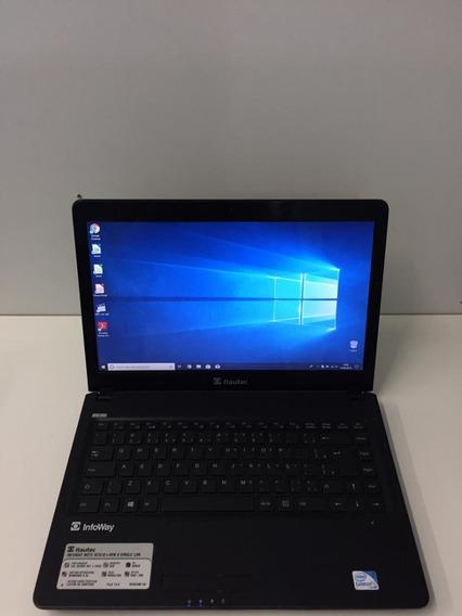 Notebook Itautec Dual Core Oferta Hd 320gb Mem 4gb 2161