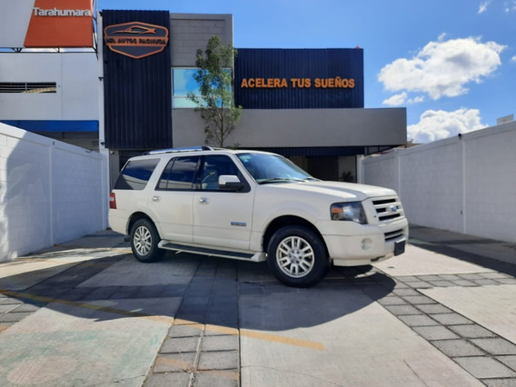 Ford Expedition Limited 2008 Piel 4x2 Camioneta Automatica