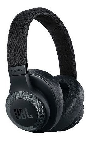 Headphone Jbl E65 Nc Preto Bluetooth Cancelamento De Ruido
