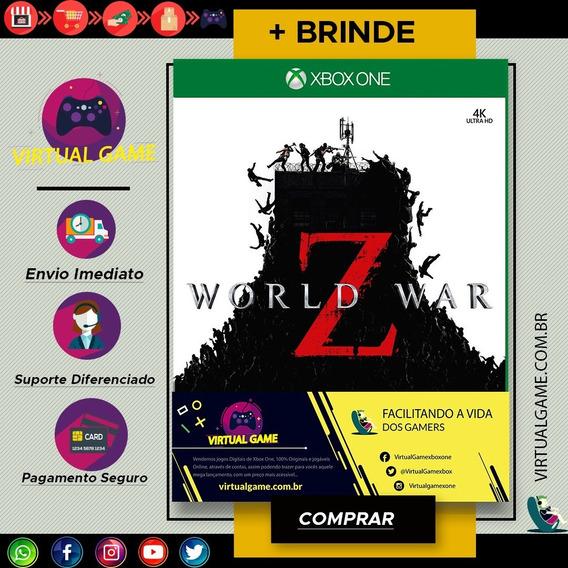 World War Z - Jogo Xbox One - Joga Online - Digital +brinde
