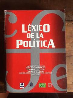Libro Léxico De La Politica