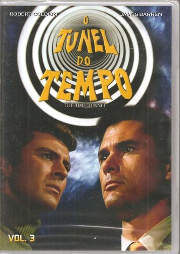 Dvd O Tunel Do Tempo Vol. 3 - Robert Colbert, James Darren