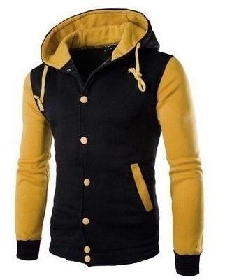 Combo 1 Jaquetas College Capuz + 1 Camiseta Estampada