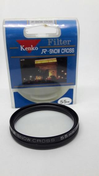 Filtro Kenko 55mm R-snow Cross (efeito Estrela)
