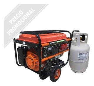 Grupo Electrógeno Generador Eléctrico Naf/gas 6 Kva Em7500