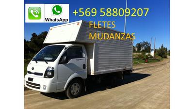 Fletes,transporte,mudanzas V Región/ Viña/ Valpo A Stgo