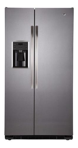 Imagen 1 de 3 de Heladera no frost GE Appliances GEPS6FGKFSS acero inoxidable con freezer 644L 220V