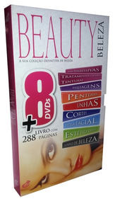 Box Beauty Beleza Com 8 Dvds + Brinde