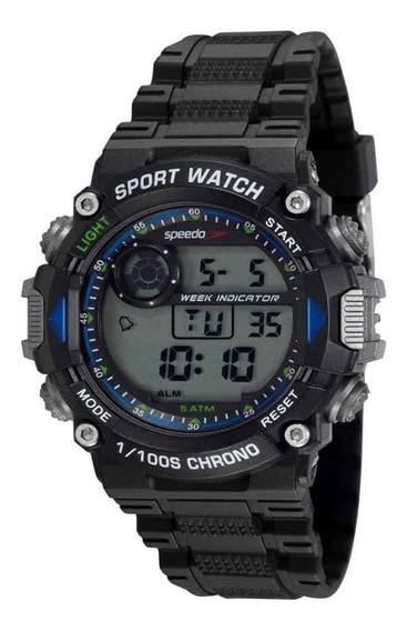 Relógio Masculino Speedo Preto 81193g0evnp2