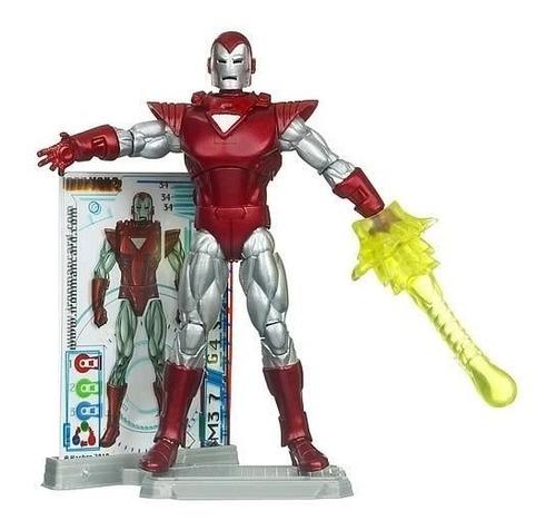 Marvel Universe: Iron Man 2 Silver Centurion Iron Man Moc