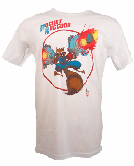 Remera, Marvel, Rocket Racoon