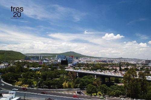 Imagen 1 de 8 de Venta Oficina Con Vista A Centro Sur, En Corporativo Tres20, A Unos Pasos De B Quintana Y Los Arcos