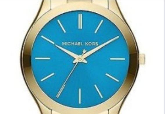 Michael Kors Reloj Analógico Para Mujer De Cuarzo Con Correa