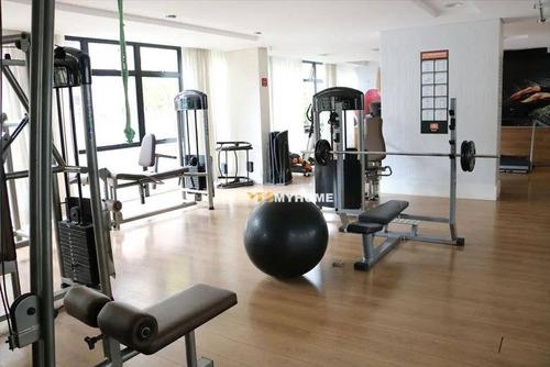 Apartamento Com 2 Dormitórios À Venda, 68 M² Por R$ 496.000,00 - Centro - Curitiba/pr - Ap3777