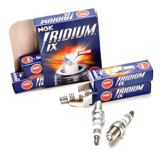 Jogo 3 Velas Ngk Iridium Cr9eix Triumph Street Triple 675