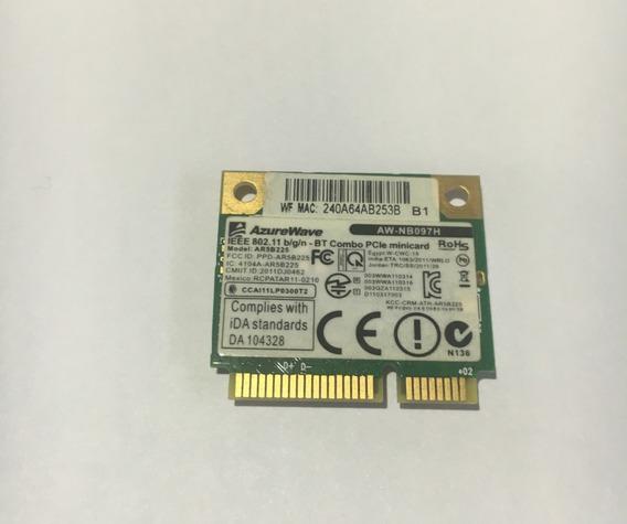 Placa Wifi/bluetooth Azurewave Aw-nb097h P Notebook Eurocase