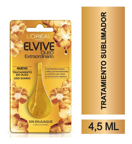 Óleo Extraordinario Tratamiento Intensivo Gota Elvive 4.5 Ml