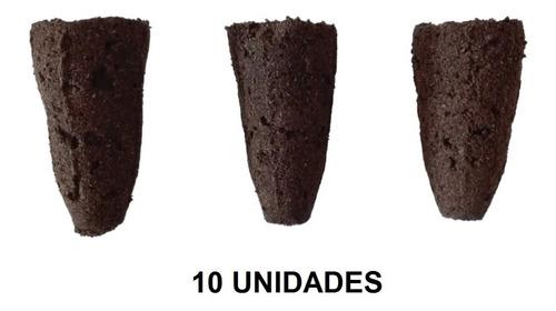 Preformas Aglomeras De Turba. Germinación.sustrato X 10 Uni.
