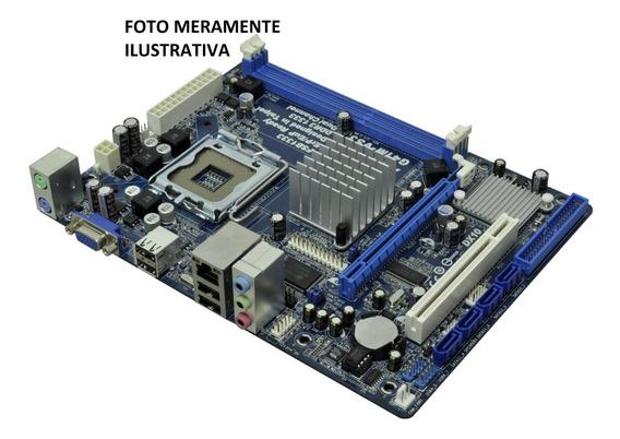 Kit Placa Mãe 775 Ddr3 + Dual Core + Cooler + 2gb Ddr3