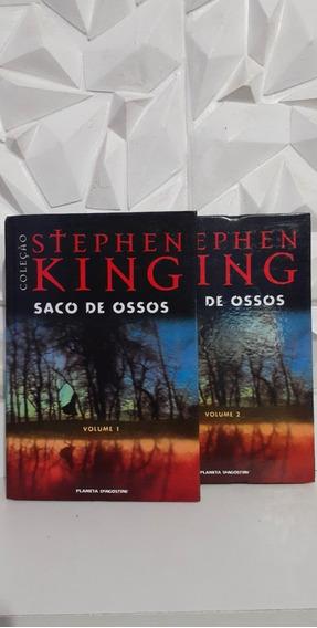 Livro Saco De Ossos Vol. 1 E 2 (seminovo) Promoção
