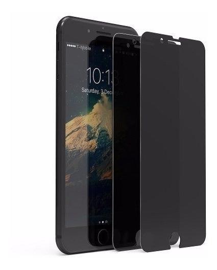 Film Vidrio Templado Anti Espia iPhone 8 7 Plus 8 7