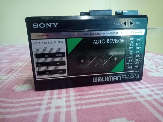 Walkman Sony Fx18/fx28 Funcionando Cem Por Cento
