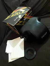 Câmera Analógica Zenit 12xs Com Case E Caixa Originais