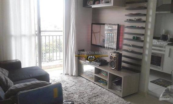 Apartamento Com 2 Dormitórios À Venda, 49 M² Por R$ 255.000,00 - Jardim Vila Formosa - São Paulo/sp - Ap0974