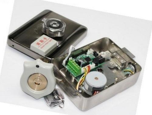 Cerradura Electrónica Motorizada De Cilindro (er-602a)