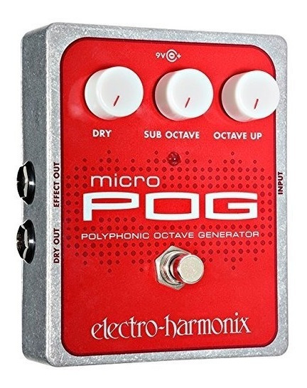 Pedal Ehx Micro Pog Polyphonic Octave C/ Nota Fiscal