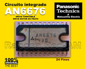 Ci An6676 Driver Do Motor Toca-disco Technics