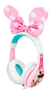 Audífonos Para Niñas Ihome Marvel Minnie Mimi Mouse