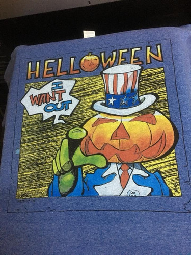 Imagen 1 de 3 de Helloween I Want Out - Metal - Polera- Cyco Records