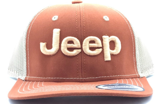 Gorra Jeep Calidad Premium Malla 4x4 Mud Off-road Accesorios