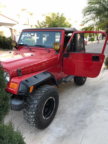 Jeep Wrangler X 5vel Mt 2004
