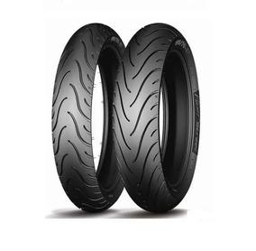 Par Pneu Michelin Pilot Street 90/90-18 + 2.75-18