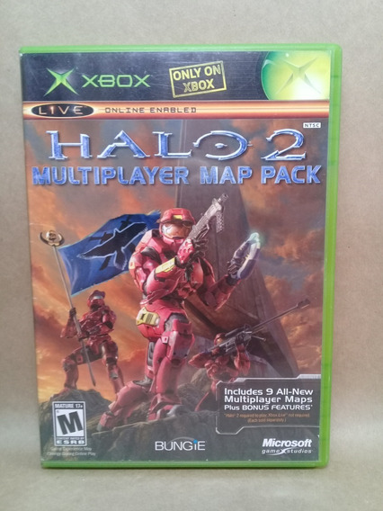 Halo 2 Multiplayer Map Pack Xbox Clássico Original