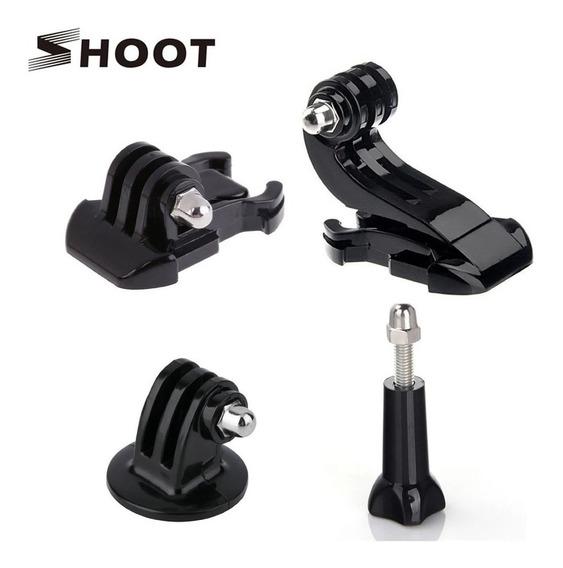 4 Adaptadores Para Câmeras Go Pro E Similares