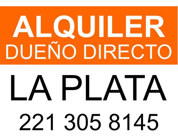 Alquiler Dueño Directo La Plata(particular)casa Departamento