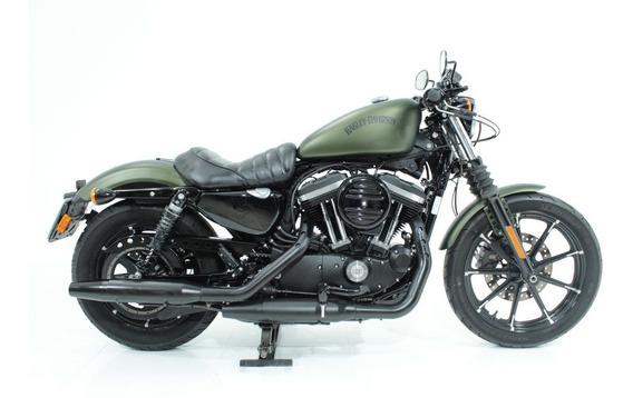 Harley Davidson Xl 883 N Iron 2016 Verde