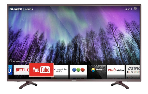 "Imagen 1 de 1 de Smart TV Sharp Aquos SH5520KUHDX LED 4K 55"""