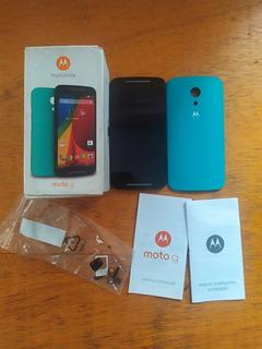 Caixa Motorola Moto G 2 Segunda Geração Xt1069 + Manual