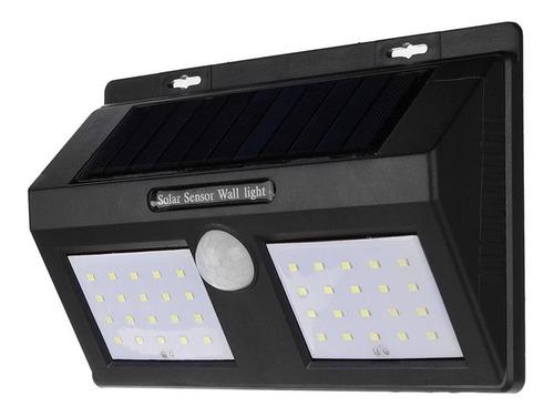Luz Led Farol Recarga Solar Doble Sensor De Movimiento Febo